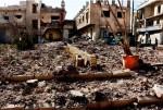 10월 5일, 국경없는의사회가 지원해 오던 알레포 동부의 M10 병원 외상센터가 처참히 파괴되어 있다