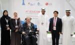 LG전자가 UAE(아랍에미리트) 대학생들의 장애인용 모바일앱 개발 교육에 힘쓴다