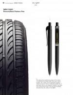 프로디아가 볼펜 외관을 타이어처럼 만든 타이어 펜 2종을 출시했다