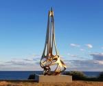 김승환 조각가의 작품 둥지로부터가 시드니 제20회 해변조각전(Sculpture by the Sea)에 초청됐다. 사진은 작품 둥지로부터