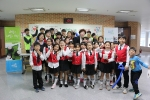 5일 전남여성플라자에서 진행된 2016 지역아동센터 꼬마예술제 행사에서 교육나눔기업 희망이음이 400인분의 식사를 후원했다