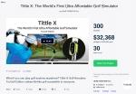 유라이크가 킥스타터에서 티틀엑스 제품으로 4일만에 목표 금액 3만불을 달성했다