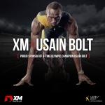 XM이 우사인 볼트 선수와 공식 파트너쉽을 맺었다