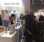 스케덤이 16일부터 개최된 아시아 최대의 뷰티박람회 2016 홍콩 코스모프로프에 참가해 신제품 등을 선보였다