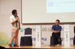위미르 김영주 대표가 강연하고 있다