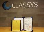 클래시스가 제8회 중소기업 IP 우수 경영인 대회에서 특별상을 수상했다