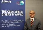 에어버스그룹과 세계공과대학장협의회가 공학교육 발전에 기여한 공로로 미국 모건주립대 소속 야곱 아스타케 박사를 2016 GEDC 에어버스 다양성 어워드 수상자로 최종 선정했다