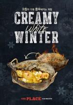 이탈리안 어반 비스트로 더플레이스는 부드럽고 고소한 크림(Cream)을 주재료로 만든 겨울 신메뉴 4종을 출시했다