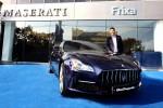 마세라티 공식 딜러인 프릭사모터스가 이대호 선수에게 더 뉴 콰트로포르테를 의전 차량으로 지원한다