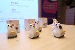 코딩&플레이가 국제유아교육전에 참가하여 SK텔레콤의 스마트로봇 알버트를 활용한 코딩교육 프로그램을 선보인다