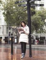 컬럼비아, 여성미 돋보이는 구스다운 재킷 선보여