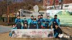 풍산 임직원들이 소외계층 어르신들에게 연탄 2천장을 전달했다