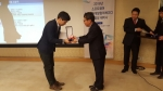 나라비전이 2016 일하기 좋은 SW 기업 최우수상을 수상했다