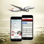일본항공이 한국지구 홈페이지에서 모바일 예약·구입 서비스를 개시했다