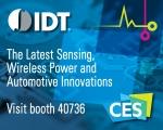 IDT가 CES 2017에서 업계 선도적인 센싱 제품과 무선 충전 기술을 선보일 예정이다