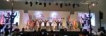 샘다문화학교가 난타 공연을 열었다