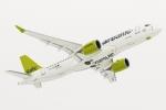 봄바디어 커머셜 에어크래프트가 CS300 항공기 첫 운항사인 에어발틱의 성공적인 상업운항 개시를 축하했다