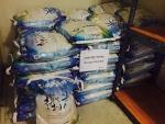 상영재단이 기부한 쌀 20Kg 100포대
