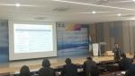 브릿지협동조합 배성기 이사장이 김포시 민간위탁 담당자들을 대상으로 강의를 진행하고 있다