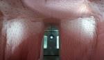 지희장, 수용하고 부유하는 피부, 자궁Woob 설치 작품, Photo by Yigal pardo