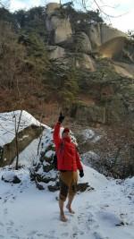 17일 태백산에서 남북 평화통일 및 소년소녀 가장 돕기 등반 행사가 진행된다