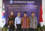 신한은행은 신한인도네시아은행과 CNB은행에 대한 법적 합병을 완료하고 통합은행으로 인도네시아에서 본격적인 영업을 시작한다