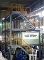 이산화탄소 습식 포집 테스트 플랜트