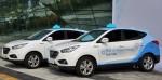 현대자동차의 투싼ix 수소전기차를 활용한 택시 시범사업이 국내에서 처음 실시된다