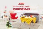 콜맨이 캠핑용품을 활용해 나만의 크리스마스 분위기를 꾸미는 홈 캠핑 크리스마스 사진 공모전을 진행한다