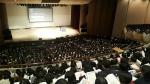 6일 오전 숙명여고 대강당에서 대성마이맥의 자연계 최상위권을 위한 입시 설명회가 개최됐다. 이날 입시 설명회에는 수용인원을 훌쩍 넘는 3천여명의 학부모와 수험생이 참석했다