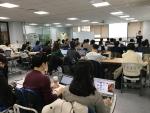 Yozma Machine Learning Seminar 2017 교육을 듣고 있는 학생들