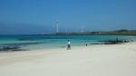 제주 월정리 해변 전경