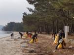 한국보건복지인력개발원이 12일, 13일 보건복지부 수습 사무관들과 소록도 병원 인근 환경 정화 봉사활동을 실시했다