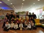 참사랑노인주간보호센터와 굿프랜드가 설날을 맞이하여 어르신들과 아이들을 위한 작은 음악회를 마련하였다