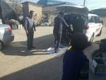 광주광역시교통약자이동지원센터가 중증장애인의 고향 방문 차량을 지원했다
