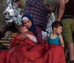 난민 캠프의 난민들