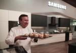 삼성전자가 4일 미국 라스베이거스에 위치한 아리아 호텔에서 셰프의 홈 쿠킹 이벤트를 진행했다