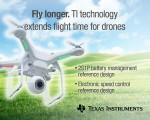 TI 코리아가 물품 배송 및 감시나 장거리 통신·지원에 활용되고 있는 쿼드콥터를 출시한다