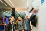 삼성전자가 18일 이태리 밀라노 패션위크 개최지로 유명한 더 몰에서 무풍에어컨 유럽 론칭 행사를 개최했다