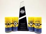 미니언즈우유가 대한민국을 넘어 아시아 대표 캐릭터 컬래버레이션 상품임을 인정받았다