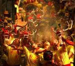 술 취한 용춤 축제