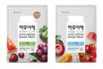 한국야쿠르트가 23일 하루야채 마스크팩을 새롭게 출시하며 과채음료 제품인 하루야채 브랜드를 확장한다