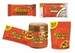 허쉬가 미국 초콜릿 판매율 1위 브랜드 리세스의 신제품 5종을 출시한다
