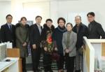건국대학교 법인이 운영하는 프리미엄 시니어타운 더 클래식 500의 자원봉사단이 25일 오전 10시 30분 서울시 광진구에 위치한 자양3동 주민센터를 방문해 쌀 100포를 기부했다