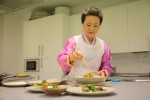 """Korean Fermented Condiments"" presented by the Korean Food Foundation earned recognition at 'Madrid Fusion 2017'. Chairman Sook Ja Yoon of the Korean Food Foundation lectured at the Korean cooking class in the Korean Cultural Center, Madrid in Spain."
