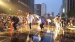서울시 B-boy단의 공연 모습