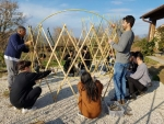 세계적 디자인 프로젝트인 Warka Water에 참여한 백제예술대학교 학생들