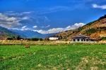 부탄 파로 계곡