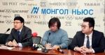 이관수 노무사(왼쪽)가 한국에서 근무하는 몽골 근로자들의 노동법상 임금체불, 산업재해, 부당해고의 권리구제를 위해 몽골 현지에서 기자회견을 개최했다