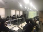 한국마이크로크레디트 신나는조합이 2016년 하반기 고용노동부에서 사회적기업으로 인증된 기업들을 대상으로 17일 간담회를 개최하였다